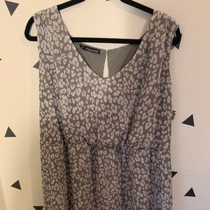 Maurice's Cheetah Print High Low Dress